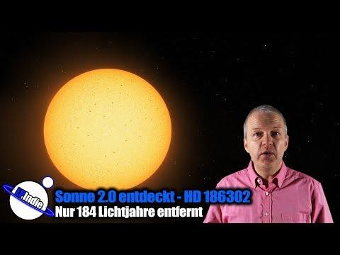 Sonne 2.0 entdeckt - HD 186302 - Nur 184 Lichtjahre entfernt