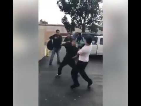 Kick boxing vs pelea callejera 3 (principiante)