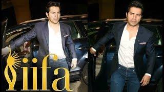 Varun Dhawan Fly For IIFA Awards 2017 In New York City