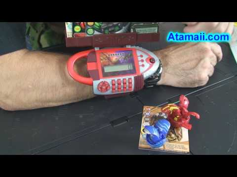 Bakugauntlet Bakugan Battle Brawlers Game Toy Review HD