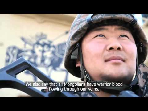 AFGHANISTAN!  Warrior Blood: The Mongolian Army in Afghanistan!