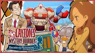 "Layton's Mystery Journey | ""Richmond's Study"" | Part 37"