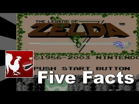 Five Facts - The Legend of Zelda