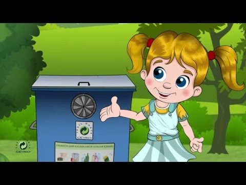 'Metal Ambalaj Atıklar Çöp Değildir' Çocuk Eğitim Videosu