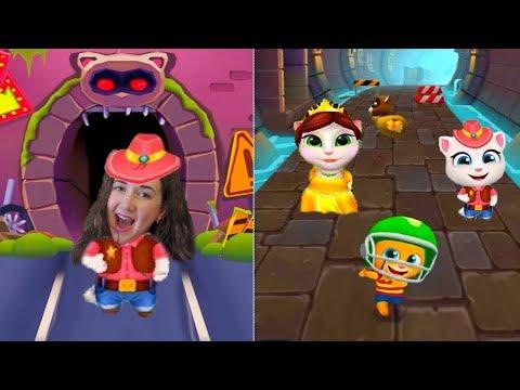 Кто круче   Железный Бен или супер Анджела! Веселое видео от Каталекс в игре Том за золотом