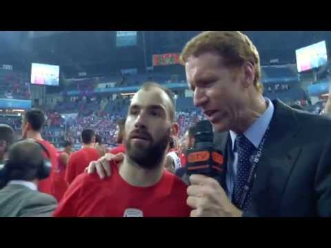 Vassilis Spanoulis Kill Bill 2012 Euroleague Final Four MVP