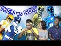 POWER RANGERS THEN Vs NOW Ft. Becky G And RJ Cyler
