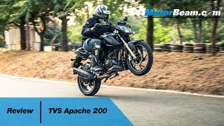 TVS Apache 200 Review | MotorBeam