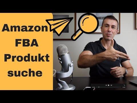 Amazon Produktsuche mit Jungle Scout, Amazon FBA Produktrecherche deutsch