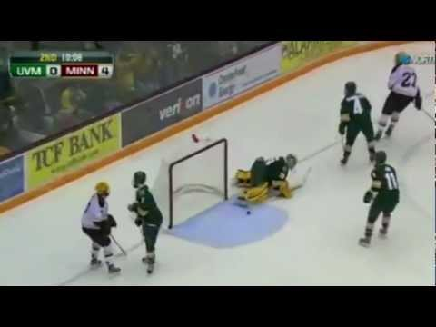 WCHA: Gophers Trounce Catamounts 6-0 (video)