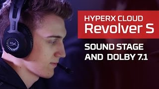 Sound Stage & Dolby Surround 7.1 features of the HyperX Cloud Revolver Line