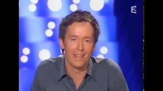 Jean Luc Lemoine - On n'est pas couché 14 avril 2007 #ONPC