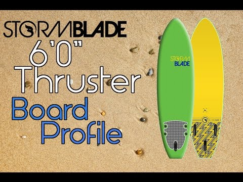 6' Stormblade Thruster Profile