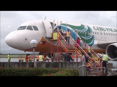 Cebu Pacific Economy Flight Trip TAC-MNL B4 Typhoon Yolanda Hits The Philippines