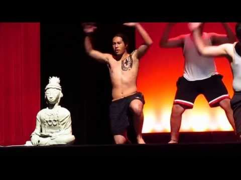 Skyline High School's Asian Youth Society Opening Performance - 2nd Assembly 2013