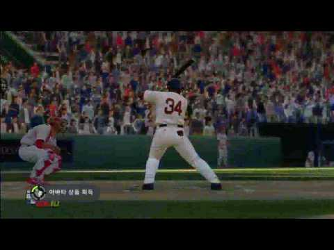 [MLB 2K10] David Ortiz Grand Slam Home Run Video