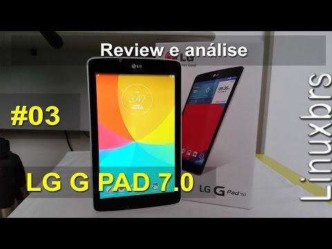 LG G Pad 7.0 V400 - Review e análise  - PT-BR - Brasil