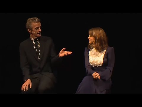 Matt Smith's gift to Peter Capaldi - Doctor Who World Tour - #DWWorldTour