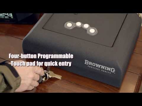 Gun Safes - Browning ProSteel Pistol Vault -- Browning Tough - :38