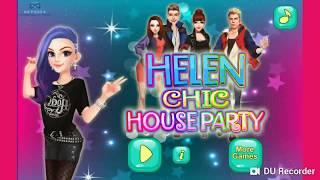 Game hay vui nhộn cho bé - Buổi tiệc tại nhà helen - Dress up games for girls/kids