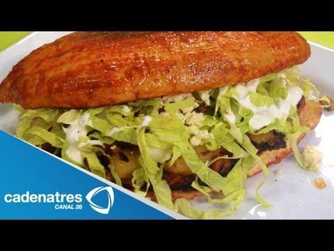 Receta para preparar pambazos. Pambazos / Antojitos mexicanos / Comida mexicana