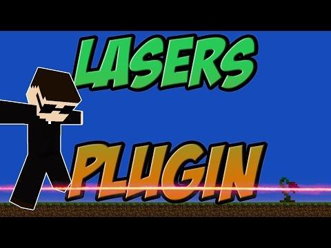 Lasers [Mechanics | Redstone] Bukkit Plugin Minecraft 1.8.x Spigot | German| | Tutorial |