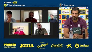 Rueda de prensa de Raúl Albiol - 10 junio