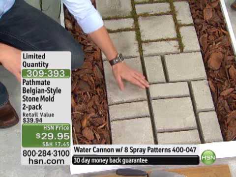 Do-It-Yourself Belgian-Style Cobblestone Walkway Mold 2 ...