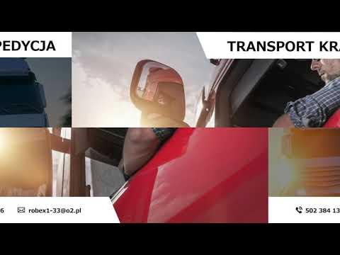 Usługi Transportowe Usługi Spedycyjne Logistyka Sadykierz Robex