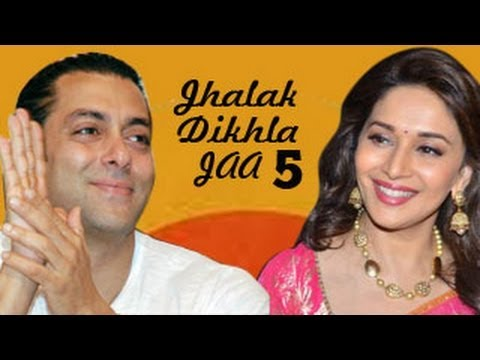Salman Khan hits at Madhuri Dixit on Jhalak Dikhla Jaa 5 sets...