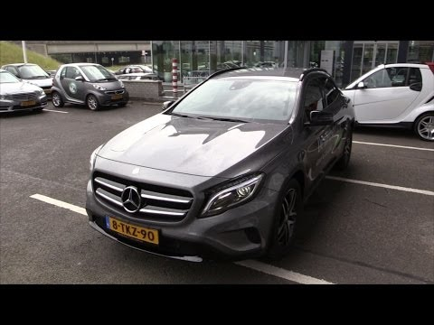 Mercedes-Benz GLA 2015 Start up Drive In depth review Interior Exterior