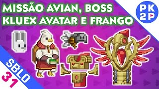 Grande Templo Sovereign e NPC/Boss Avian  ► Starbound #31