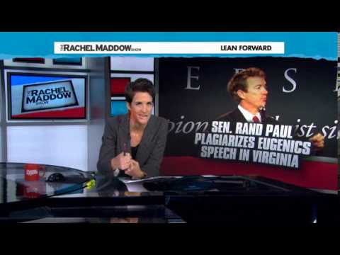Is This High School? Rachel Maddow Catches Rand Paul Plagiarizing Off Wikipedia