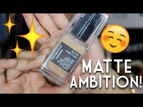 HONEST Covergirl MATTE AMBITION Review