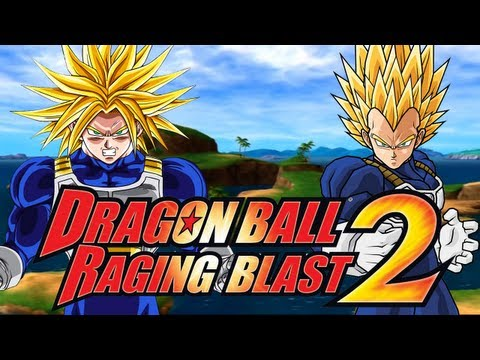 DragonBall Raging Blast 2: Super Trunks VS Super Vegeta (Live Commentary)