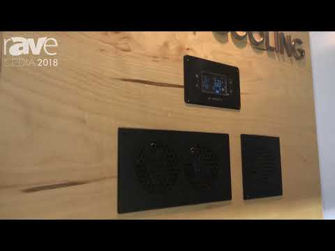 CEDIA 2018: AC Infinity Shows Cabinet Cooling Solutions
