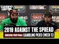 WCE 2018 College Football Gambling Picks Week 5 mp3
