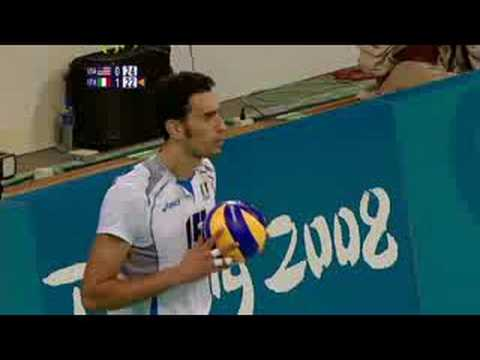 USA vs Italy - Men's Volleyball - Beijing 2008 Summer Olympic Games