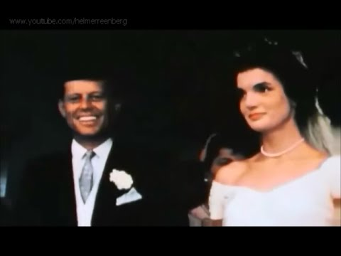 The Wedding of John F. Kennedy & Jacqueline Bouvier in Color