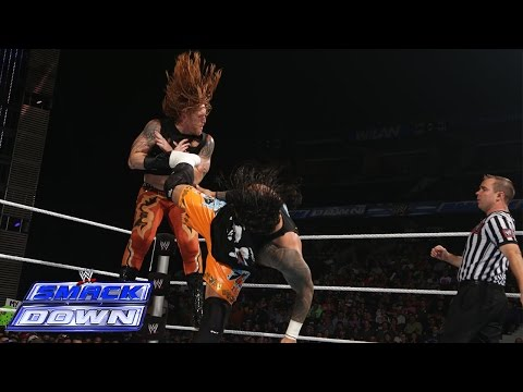 The Usos vs. Titus O'Neil & Heath Slater: SmackDown, July 11, 2014