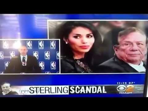 Donald Sterling Banned for Life Fined $2.5 million Adam Silver