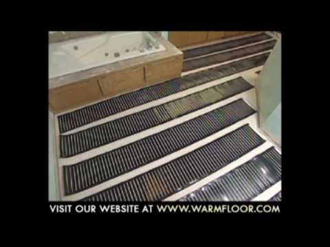 Laticrete Floor Warming Part 1 Diy Reviews