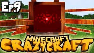 "Minecraft  CRAZY CRAFT 3.0 | Ep 9 : ""CATERKILLER!!"" (Crazy Craft Modded Survival)"