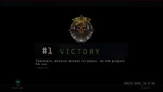Call of Duty®: Black Ops Blackout Quad win #5 got carried again!!!