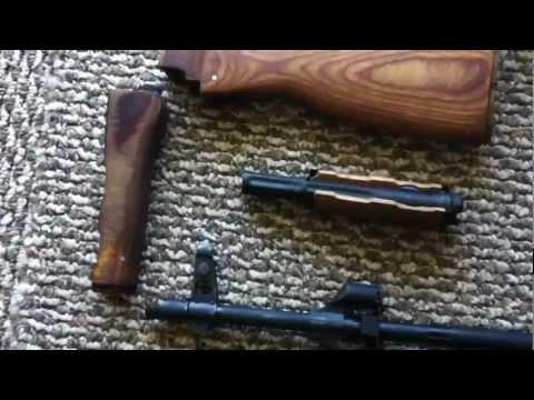 Romanian WASR-10/63 AK-47 Refinishing: Before