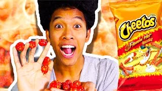 HOT CHEETO GUMBALLS!!! HOW TO MAKE!
