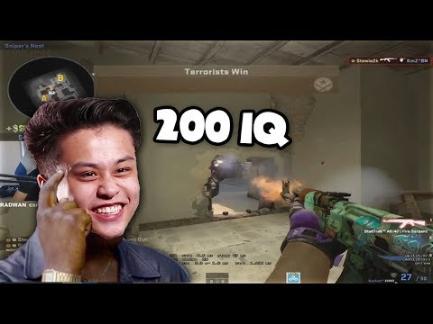 STEWIE2K 200 IQ PLAY!! CS:GO Epic Moments #54 (Funny Moments, Pro Plays, Highlights)