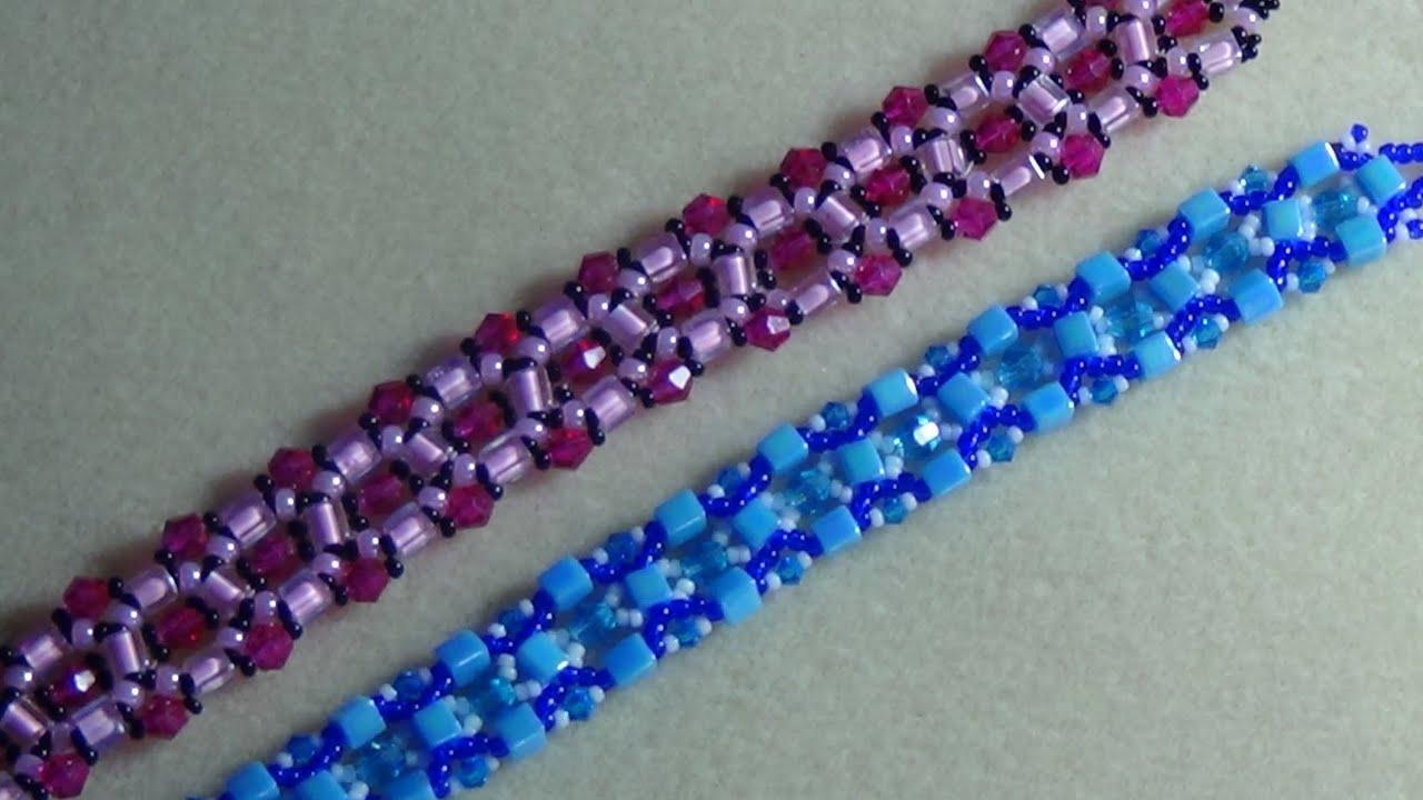 Плетение бисером фото браслеты