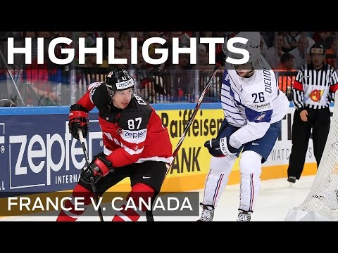 Canada survives French fright | #IIHFWorlds 2015