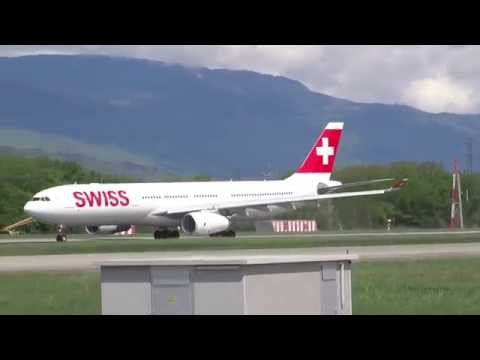 [Full HD] Takeoff Swiss LX 22 Geneva to New York JFK